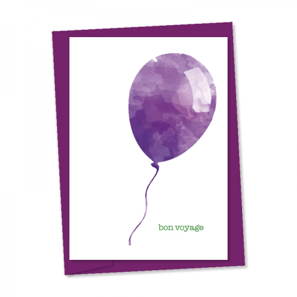 bon voyage balloon