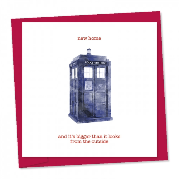 new home – police box