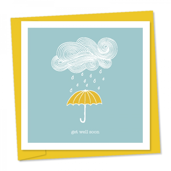 get well soon – umbrella