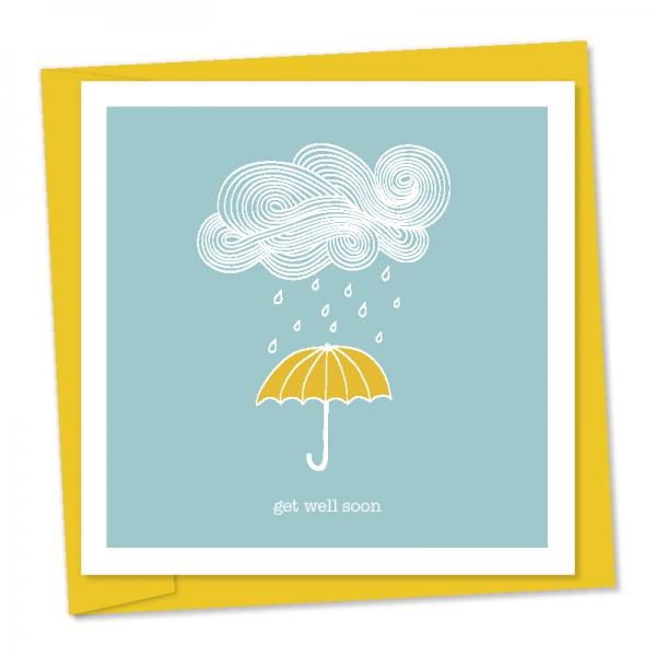 get well soon – umbrella