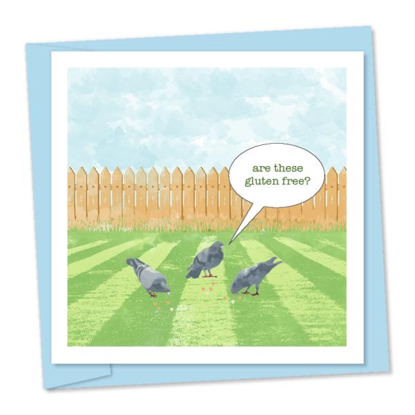 gluten free pigeons