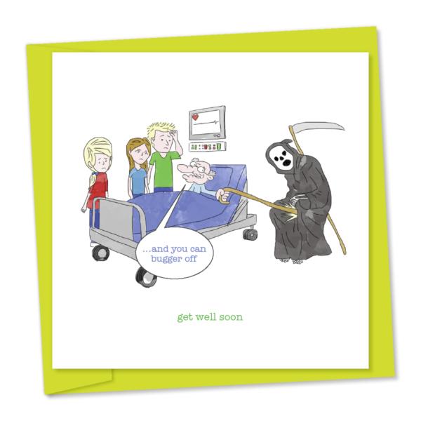 get well soon grim reaper