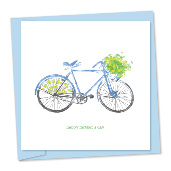 flowery bike mothers day