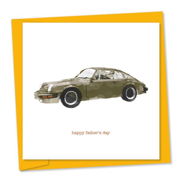 m735 Porsche 911 – happy father's day