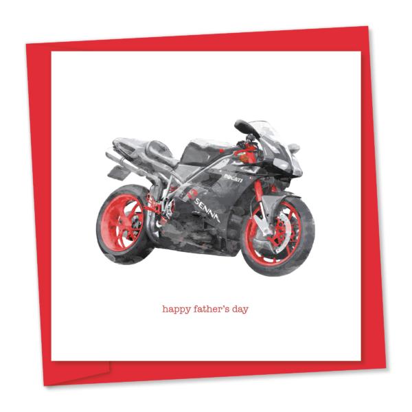 m736 Ducati Senna – happy father's day